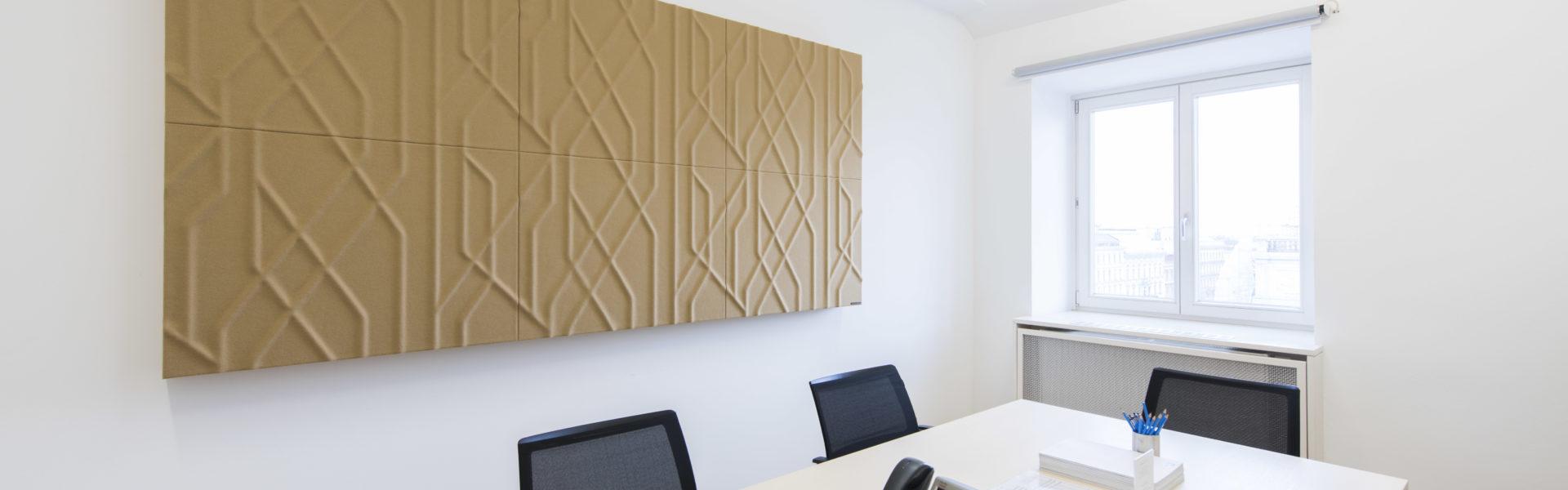 Soundcomb in Beige mit Muster